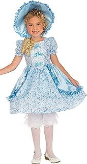 Forum Novelties Girls Lil' Bo Peep Costume, Small, One Color