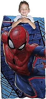 Marvel Spiderman Blue Thwip 2 Piece Children's Slumber Bag - 30