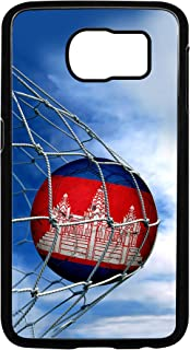 Case for Samsung Galaxy S 6 - Flag of Cambodia - Soccer