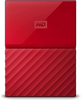 WD 4TB Red My Passport Taşınabilir Harici Hard Disk - USB 3.0 - WDBYFT0040BRD-WESN