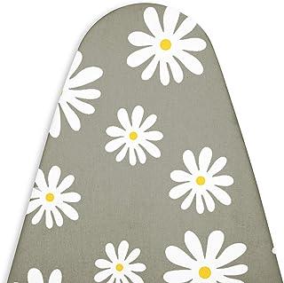 Encasa Homes zastępczy pokrowiec na deskę do prasowania z filcową wyściółką 3 mm, zaciśnięcie sznurkiem (pasuje do standar...