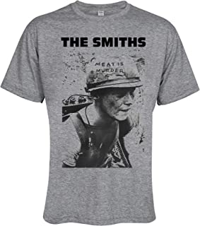 The Smiths Meat is Murder Grey Men Tee T-Shirt
