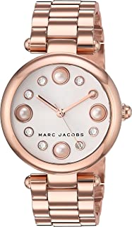 Marc Jacobs Women's Dotty Japanese-Quartz Watch with Stainless-Steel Strap, Rose Gold, 13 (Model: MJ3519)