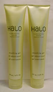 Halo Illuminating Color Protection Smoothing Gel 6oz By Graham Webb (2 Pack)