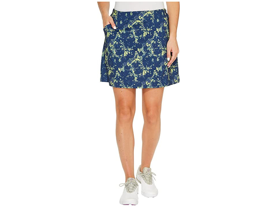 PUMA Golf Bloom Knit Skirt (Peacoat) Women