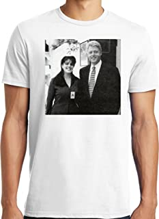 Big and Tall Funny Bill Clinton and Monica Lewinsky Photo T Shirt