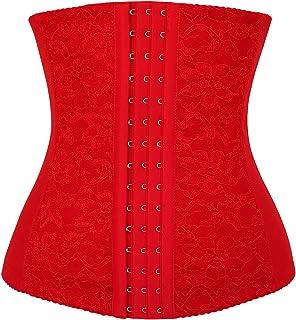 710a81fb04 Charmian Women s Latex Underbust Waist Training Steel Boned Shapewear Corset