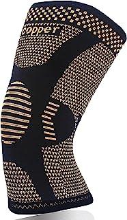 بریس زانو برای آرتروز درد و پشتیبانی - بهترین فشرده سازی آستین زانو مس برای ورزش ، تمرین ، تسکین آرتروز (XL)