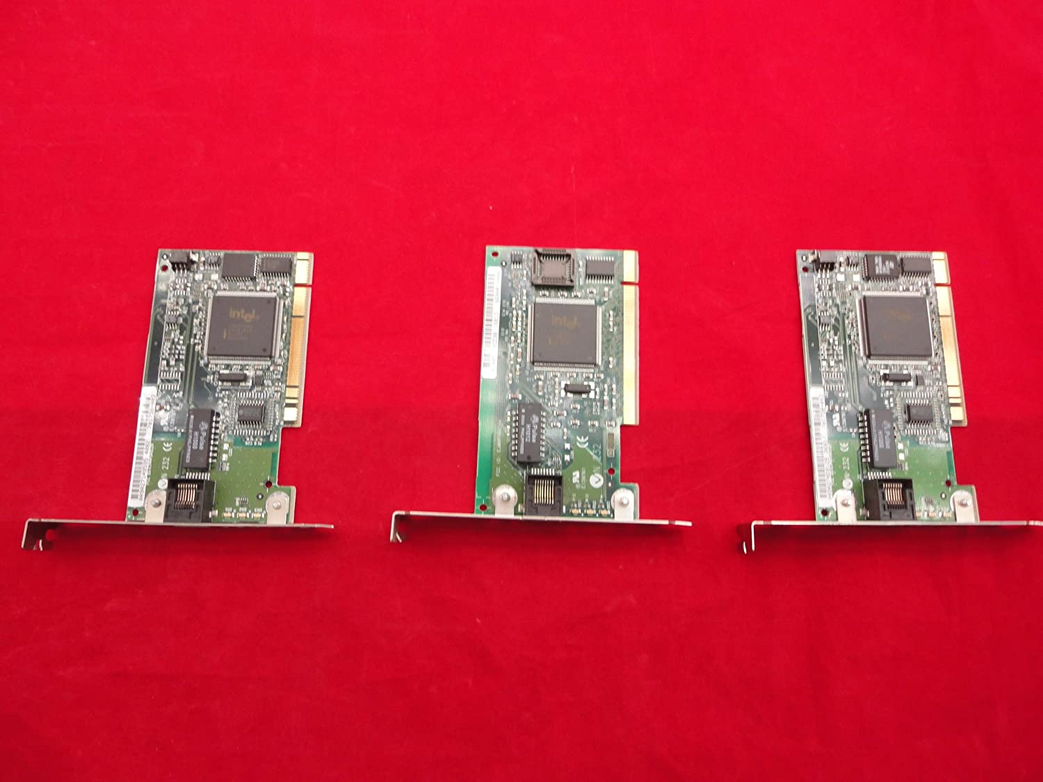 Lot of 3 HP Over item handling ☆ 701738-003 NIC Intel Cards T20441 100 10 PCI Japan's largest assortment Network