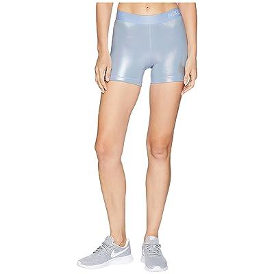 Nike Rise Pack Shorts 3 (Royal Tint/Metallic Silver) Women