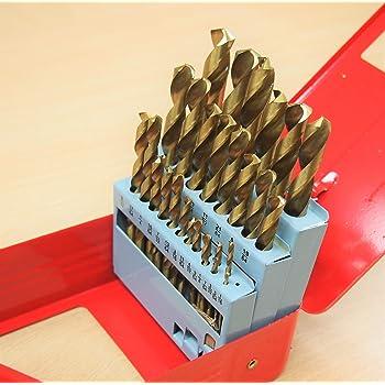 Neocraft NET10019 Titanium Coated Drill Bits 13Pcs