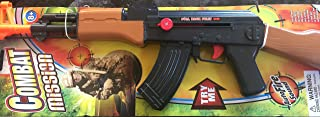 Combat Russian model Rifle AK-47 Full Size Air- Clicker Friction Power with Auto Fire Sound