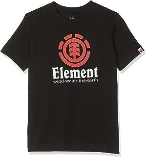 Element Vertical SS Boy Camiseta de Manga Corta, Niños