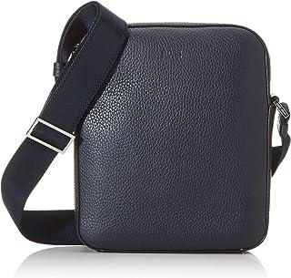 BOSS - Crosstown_ns Mini, Shoppers y bolsos de hombro Hombre, Azul (Navy), 5.5x24x20 cm (B x H T)