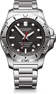 Victorinox - Hombre I.N.O.X. Professional Diver - Reloj de Acero Inoxidable de Cuarzo analógico de fabricación Suiza 241781