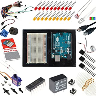 Vilros Arduino Uno Ultimate Starter Kit + LCD Module - Includes 72 Page Instruction Book