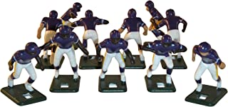 Electric Football 67 Big Men 11 in Purple Yellow Home Uniform