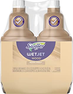 Swiffer Wetjet Wood Floor Cleaner Solution Refill, 42.2 Oz