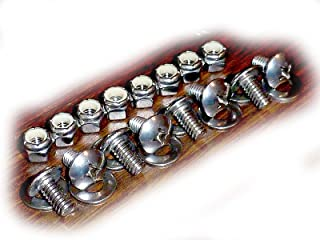 Leg Hole Filler Screw Set for ShopSmith Mark 5 Woodworking Machines • Stainless Steel