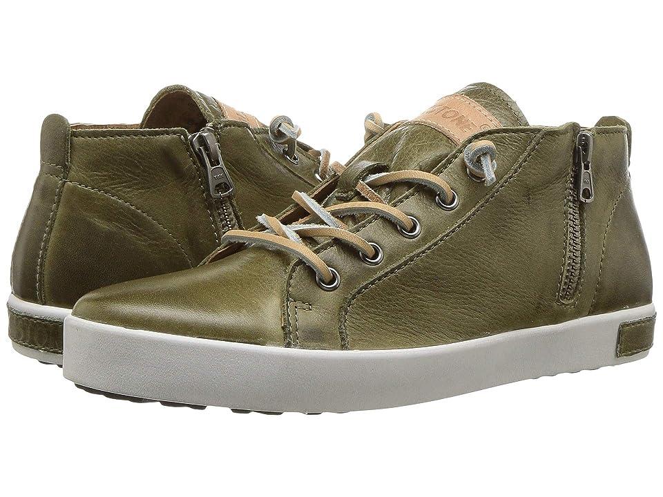Blackstone Mid Sneaker JL24 (Olive) Women