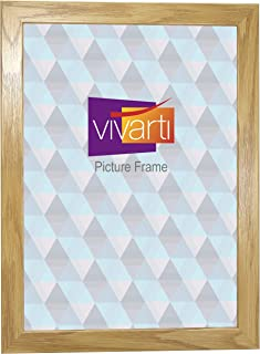 Oak Finish Light Wood Ready Made Picture Frame, A3 Size, 29.7 x 42 cm