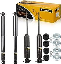 Maxorber Full Set Shocks Struts Absorber Compatible with Chevy Express,GMC Savanna 1500 2500 3500 Suburban,Chevy Tahoe,GMC Yukon 1995-2002 Shock Absorber 344265 344273