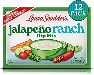 Laura Scudder Dip Mix Jalapeño Ranch 12 pack