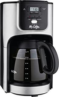 Mr. Coffee 12-Cup Programmable Coffee Maker with Brew Strength Selector