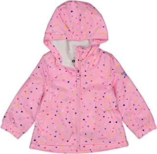 OshKosh B'Gosh Girls' Midweight Jacket with Fleece Lining