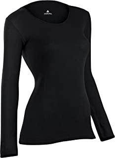 Indera Women's Combed Cotton Raschel Knit Thermal Underwear Top