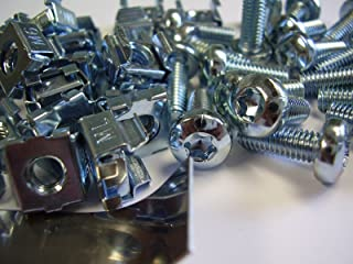100 M6 Cage Nuts, 100 T-30 torx Screws and 1 Insertion Tool