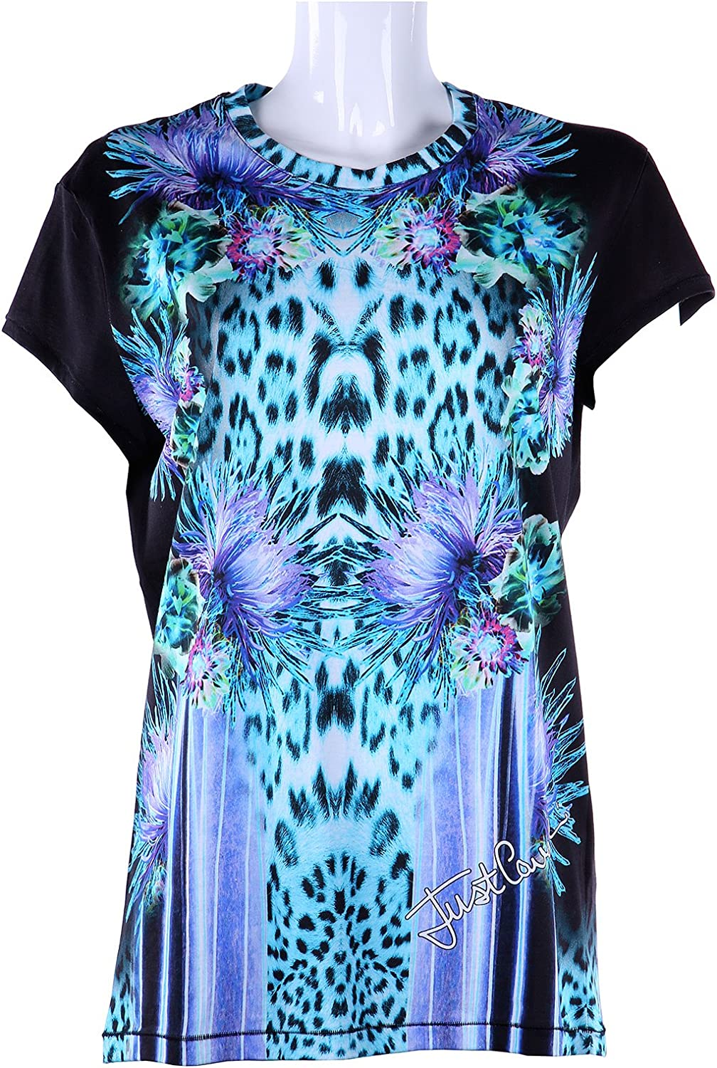 Just Cavalli Womens Mixed Printed Top