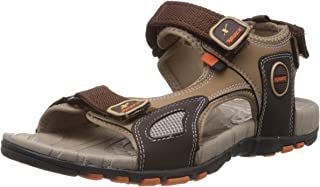 Sparx Men's Camel Brown Athletic and Outdoor Sandals - 8 UK (SS-604)