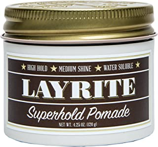Layrite Superhold Pomade, 4.25 oz.