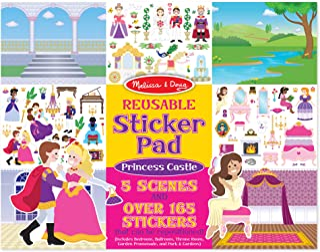 Melissa & Doug Reusable Sticker Pad - Princess Castle