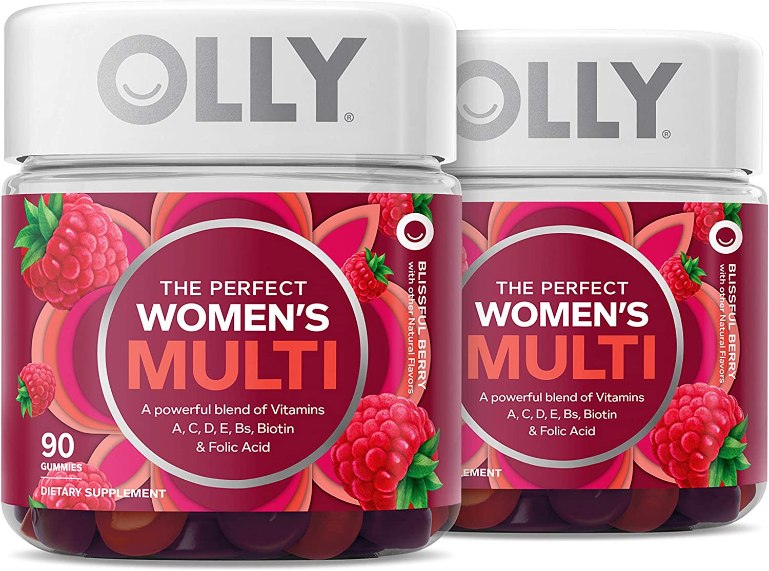 OLLY Women's Multivitamin Gummy Vitamins A Fo D C Biotin Cheap mail order specialty store NEW E