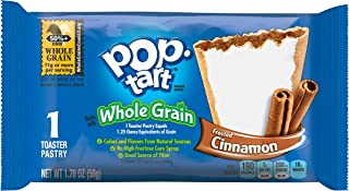 Pop-Tarts BreakfastToaster Pastries, Whole Grain Frosted Brown Sugar Cinnamon Flavored, Bulk Size, 120 Count (Pack of 12, 17.6 oz Boxes)