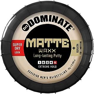 dominate matte waxx