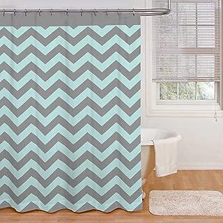 Ryder Shower Curtain in Aqua / Grey - 72