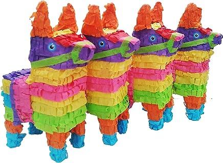 Mini Donkey Pinata Pack (4 pcs.)