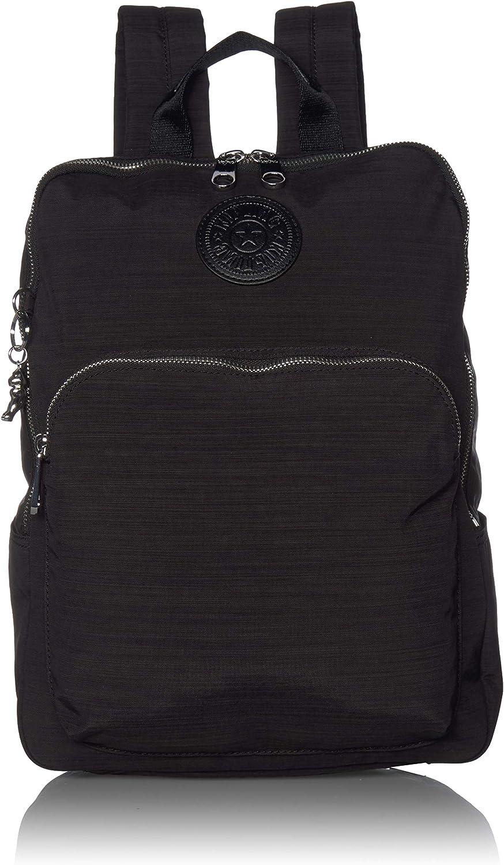 Kipling Women's Sohi Medium Laptop Backpack, Black Dazz, 11.25