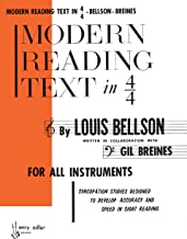[Louis Bellson] Modern Reading Text in 4/4 for All Instruments - Paperback