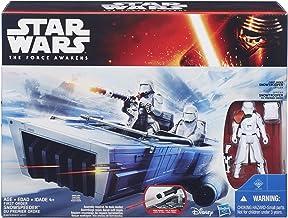 Set de juguetes de acción de Star Wars: El despertar de la fuerza (incluye figura de Snowtrooper y vehículo Snowspeeder de la Primera Orden)