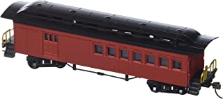 Bachmann Industries 1860 - 1880 Passenger Cars - Combine - Painted, Unlettered Red (HO Scale)