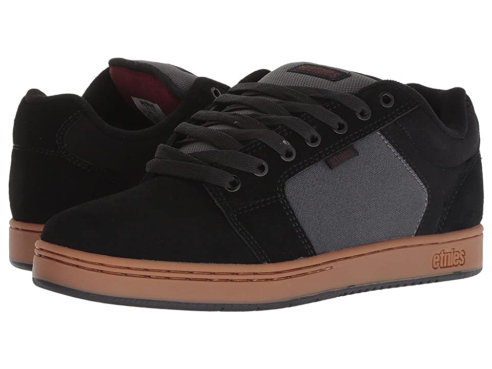 etnies Barge XL (Black/Dark Grey/Gum) Men