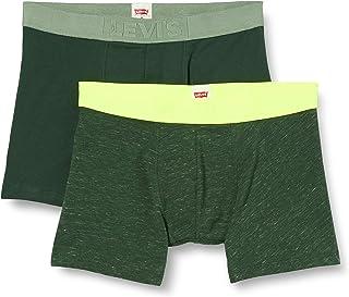 Levi's Men's Injected Slub Neon Boxer Briefs (2 Pack) (Pack of 2)