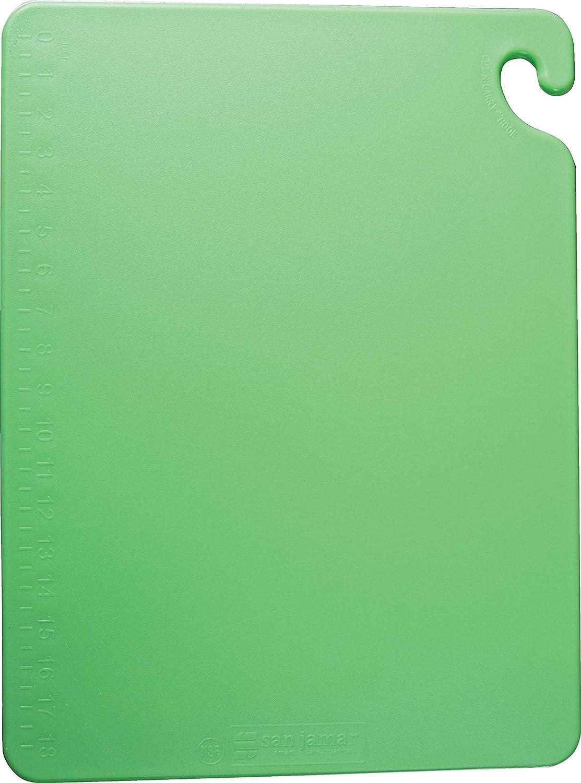San Jamar - CB182412GN Max 68% OFF CB182412 Popular brand in the world Cut-N-Carry B Co-Polymer Cutting