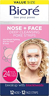 charcoal nose strips biore