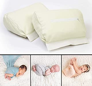Newborn Photography Butterfly Posing Pillow – 2 Piece Detachable Baby Posing Props, New & Improved With 25% More Stuffing & Adjustable Fastening
