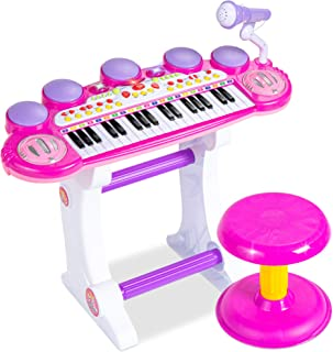 Best Choice Products 37-Key Kids Electronic Musical Instrume